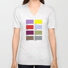 PLAYFUL PANTONES Unisex V-Neck