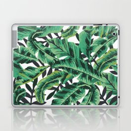 Tropical Glam Banana Leaf Print Laptop & iPad Skin