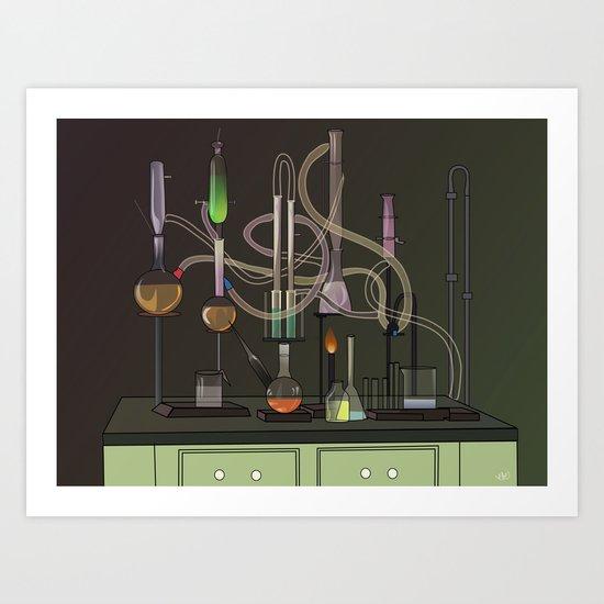 Brain Serum Art Print