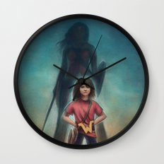 She's Got Your Back Wall Clock