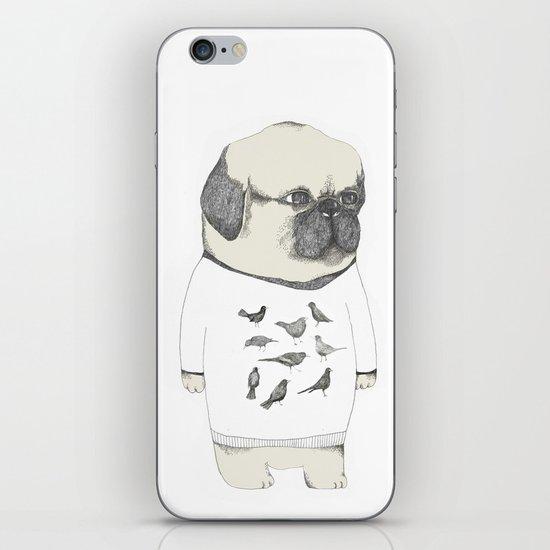 kinotto pug iPhone & iPod Skin