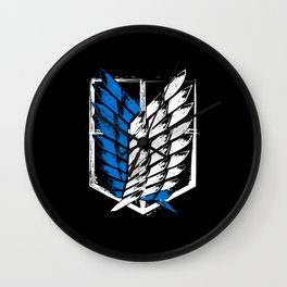 Attack on Titan Survey Corps Wall Clock