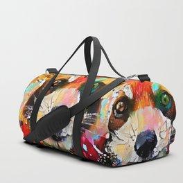 Red Panda Smiles Duffle Bag