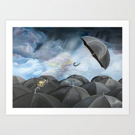 The Daily Commute Art Print