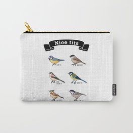 Funny Nice tits Birdwatching Bird Gift Carry-All Pouch