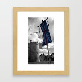 Union Flag Framed Art Print