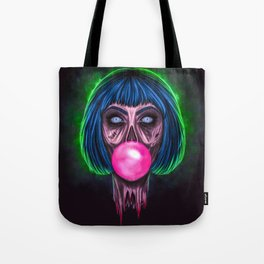Zombie Bubblegum Tote Bag