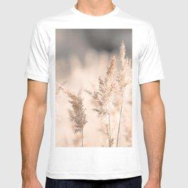 Neutral Tone Pampas Grass, Reed T-shirt