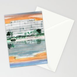 Ergon On Mirror Lake Stationery Cards