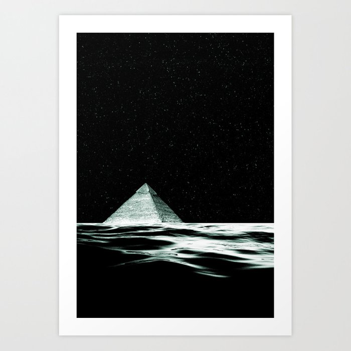 pyramid song Art Print