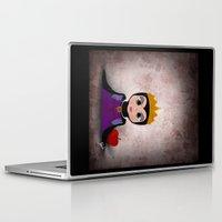 evil queen Laptop & iPad Skins featuring Villain Kids, Series 1 - Evil Queen by Joe Alexander