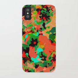 ALL FOR FLOWERS- GREEN iPhone Case