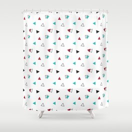 Triangle Pattern Shower Curtain