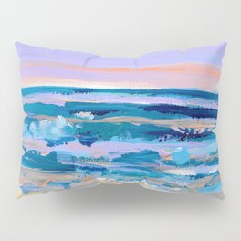 Wave. Beach Painting Series No.15 Pillow Sham