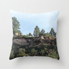 Colorado Bluffs Throw Pillow