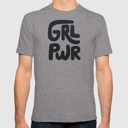 a9ddd150785 Grl Pwr black and white T-shirt