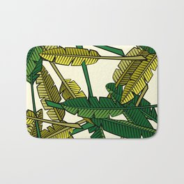 Botany: Banana Leaves Bath Mat