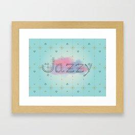 Jazzy okami v.2 Framed Art Print