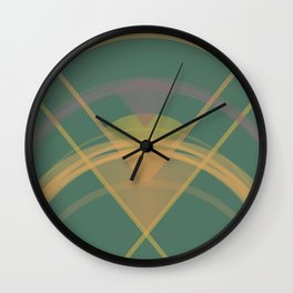 Geometry Light and Bright Wall Clock