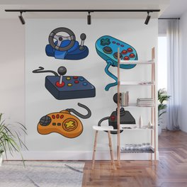 Video Game  Controls Wall Mural