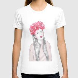 Rose girl T-shirt