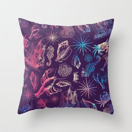 Nautical Galaxy Throw Pillow