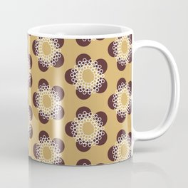 Flower Power surface pattern Coffee Mug