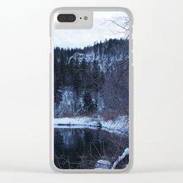 Overlook Clear iPhone Case