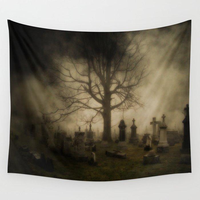 Unsettling Fog Wall Tapestry
