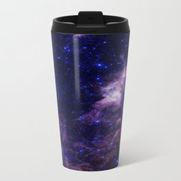 gAlAXY Purple Blue Travel Mug
