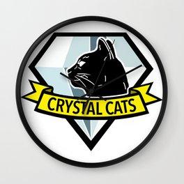 Crystal Cats - MGS Wall Clock