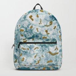 Gold sea Backpack