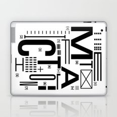 METAL FICTION Laptop & iPad Skin