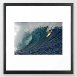 HAWAII'S KOHL CHRISTENSEN CLOUDBREAK Framed Art Print