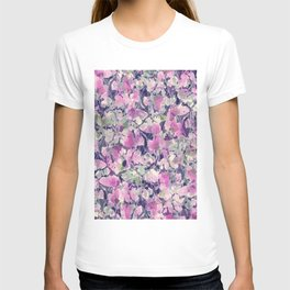 Pink Water Blossoms T-shirt