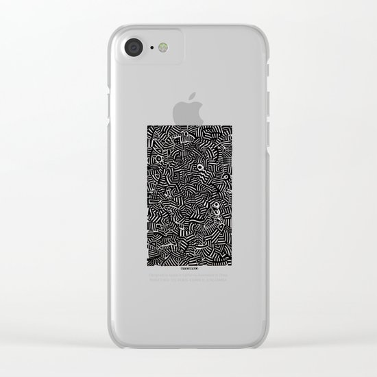 - the doubt - Clear iPhone Case