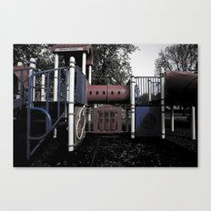 Old School Yard #5 Canvas Print