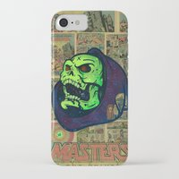 skeletor iPhone & iPod Cases featuring Skeletor by Beery Method