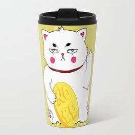 Maneki-nope Travel Mug