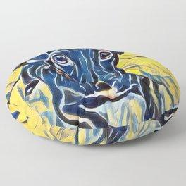Pop Art Jack Russell Floor Pillow