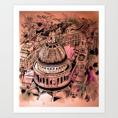 St Pauls London Art Print