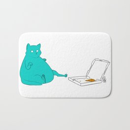 One More Slice Bath Mat