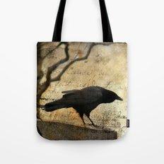 Crow Caws Tote Bag