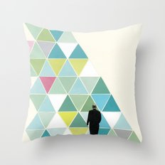 Obstacle Throw Pillow