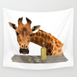 El Girafo Wall Tapestry