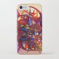 sci fi iPhone & iPod Cases featuring Sci-fi insect by Gaspar Avila