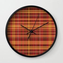rustic chess Wall Clock
