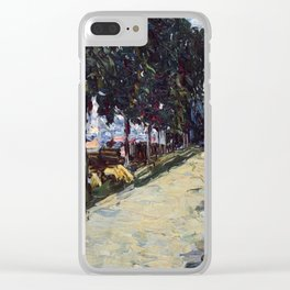 Park in St. Cloud, 1605, Old Masters Collection, Wassily Kandinsky Clear iPhone Case