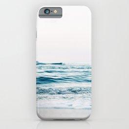 Blue Ocean Waves  iPhone Case