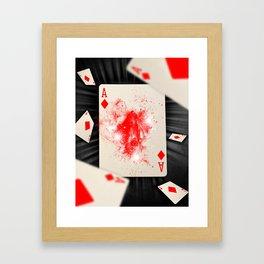 Ace of Diamonds Framed Art Print